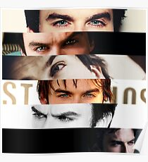 Ian Somerhalder's Eyes! Poster
