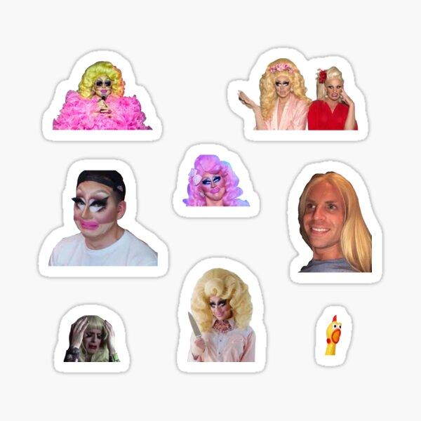 trixie and katya sticker pack Sticker