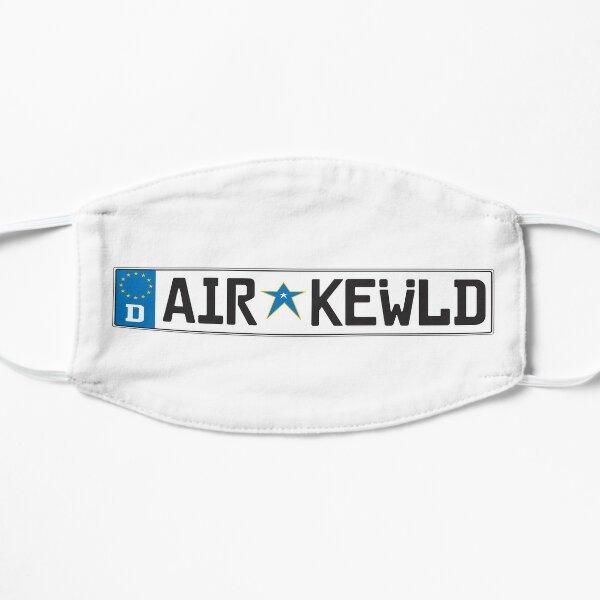 European Airkewld License Plate Mask