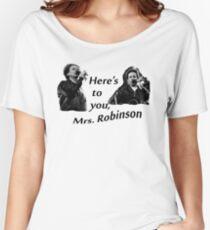 Simon & Garfunkel-Mrs. Robinson Women's Relaxed Fit T-Shirt