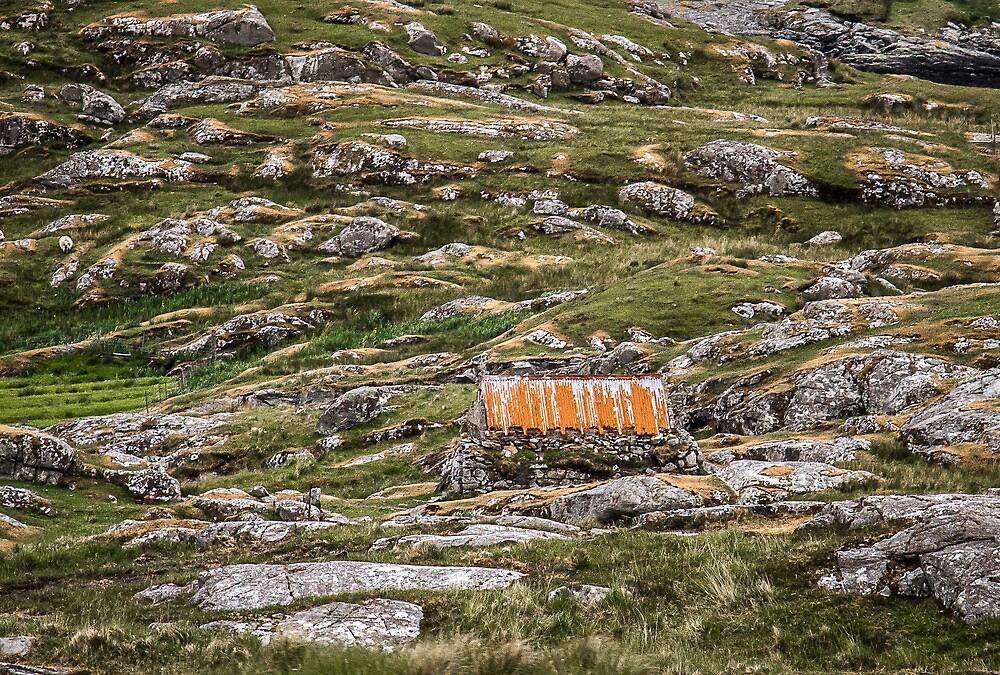 Hut, Isle of Harris by JourneyPhotos