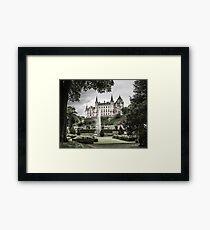 Dunrobin Castle, Sutherland Framed Print