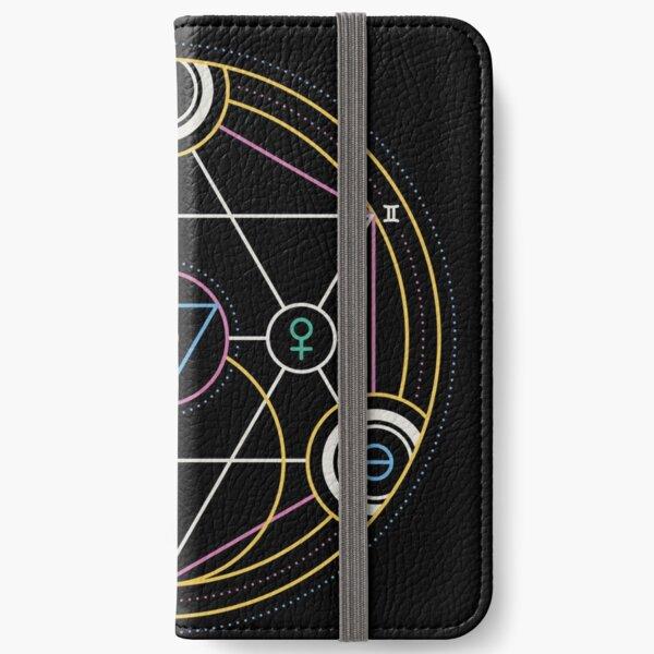 Alchemy Transmutation Circle - Self-development Symbol iPhone Wallet