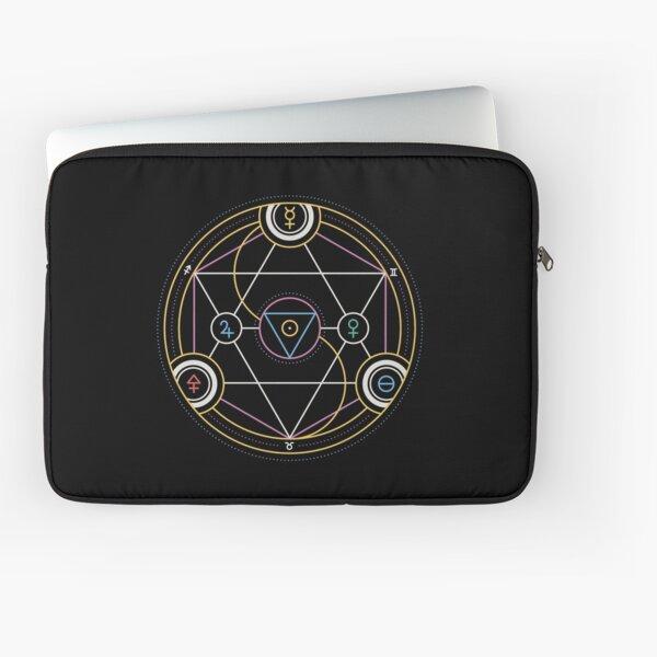 Alchemy Transmutation Circle - Self-development Symbol Laptop Sleeve