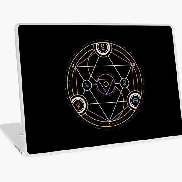 Alchemy Transmutation Circle - Self-development Symbol Laptop Skin