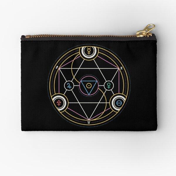 Alchemy Transmutation Circle - Self-development Symbol Zipper Pouch