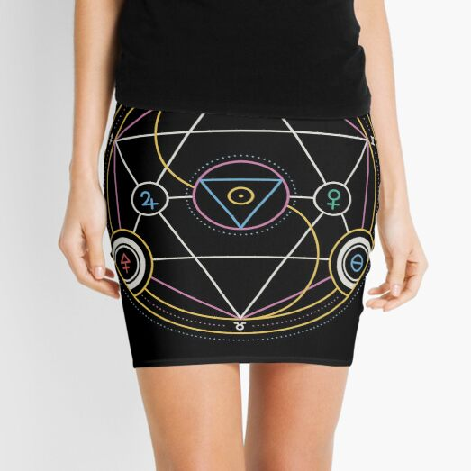 Alchemy Transmutation Circle - Self-development Symbol Mini Skirt