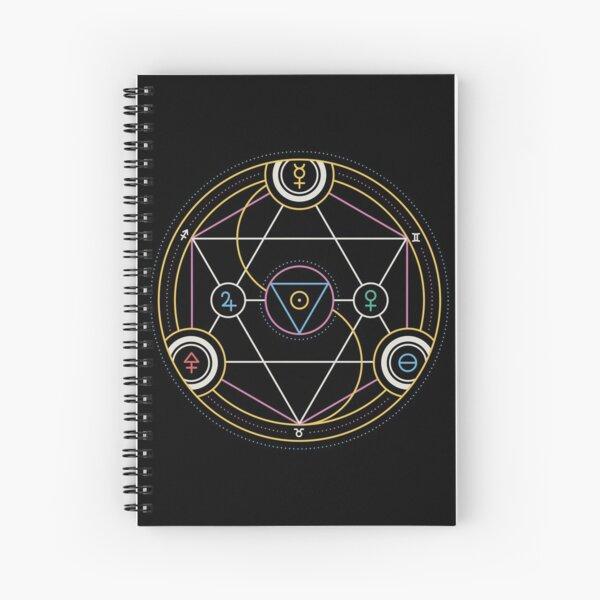 Alchemy Transmutation Circle - Self-development Symbol Spiral Notebook