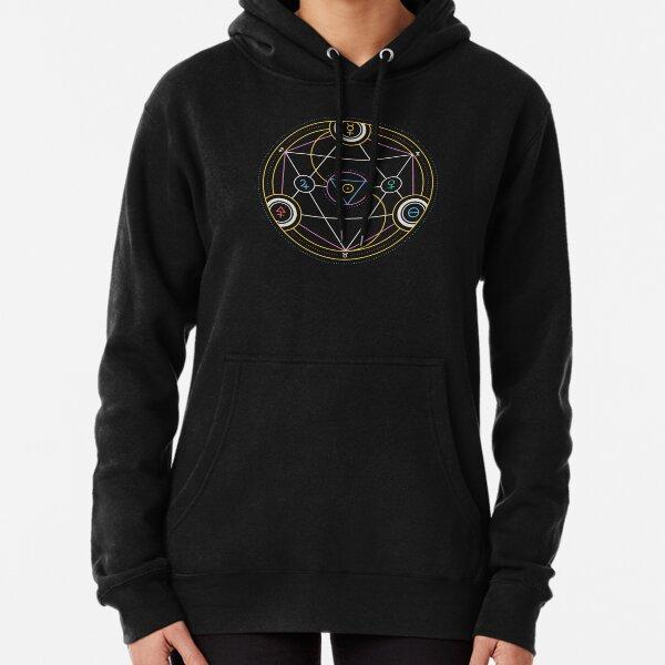 Alchemy Transmutation Circle - Self-development Symbol Pullover Hoodie