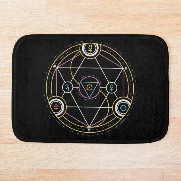 Alchemy Transmutation Circle - Self-development Symbol Bath Mat