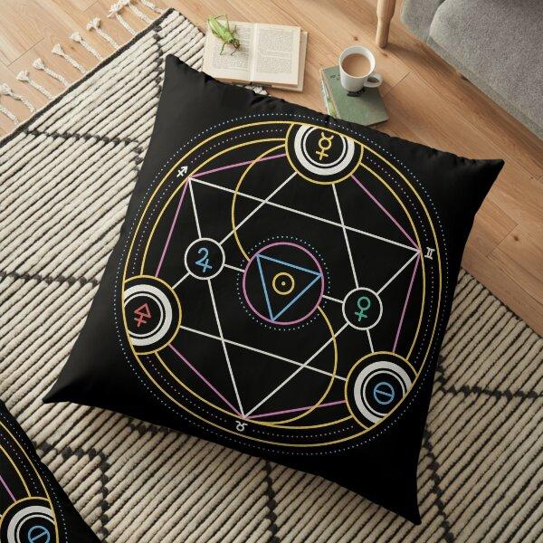 Alchemy Transmutation Circle - Self-development Symbol Floor Pillow