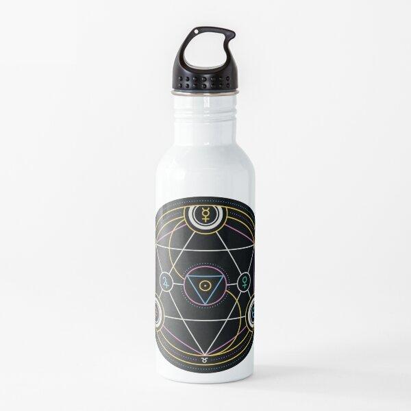 Alchemy Transmutation Circle - Self-development Symbol Water Bottle
