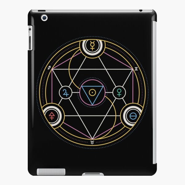 Alchemy Transmutation Circle - Self-development Symbol iPad Snap Case