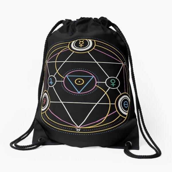 Alchemy Transmutation Circle - Self-development Symbol Drawstring Bag