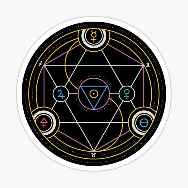 Alchemy Transmutation Circle - Self-development Symbol Sticker