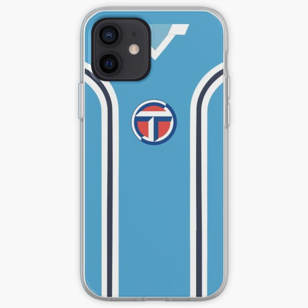 Coventry City Classic Blue Double Striped Kit 1975 - 1981 iPhone Soft Case