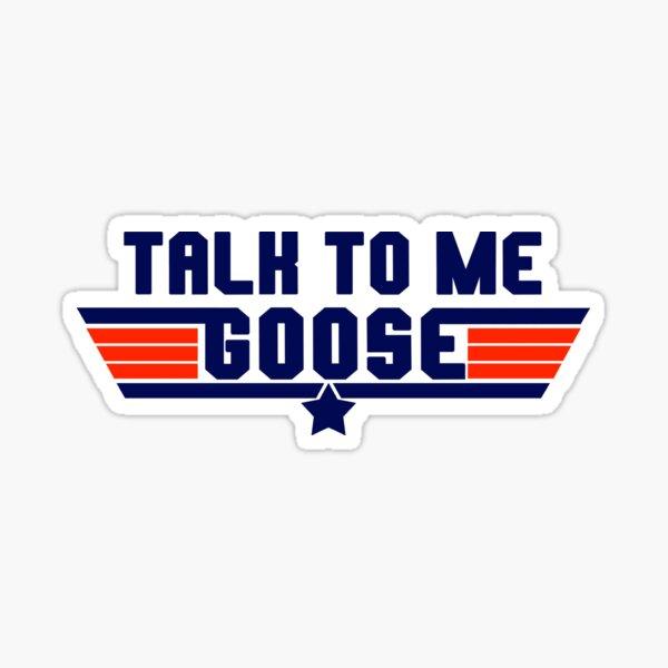 Parlez moi Goose - Conception du logo Sticker