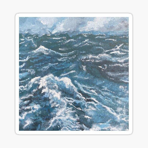 stormy seas  Sticker