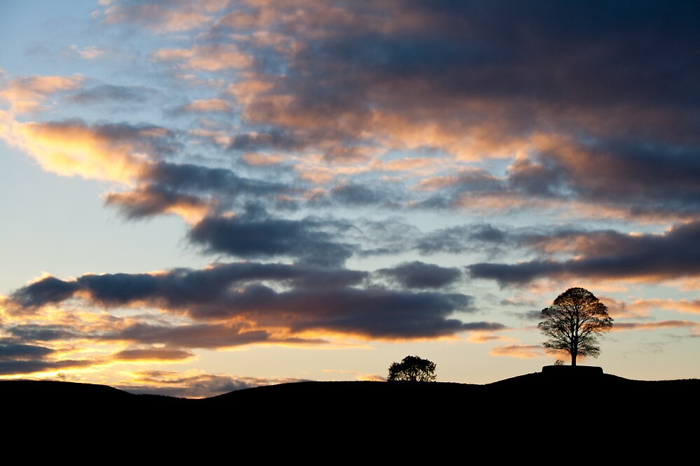 Swaledale sunset by Rebecca Mason