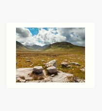 Poisoned Glen Art Print