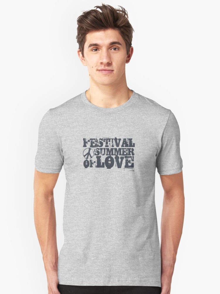 Festival Summer of Love Unisex T-Shirt Front