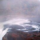 Ohiopyle Falls with rapids by Paul Kavsak