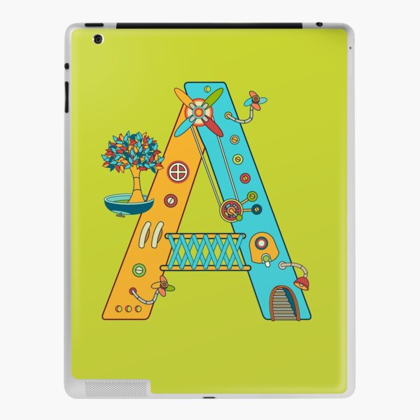 A for Armadillo, from the AlphaPod collection iPad Skin