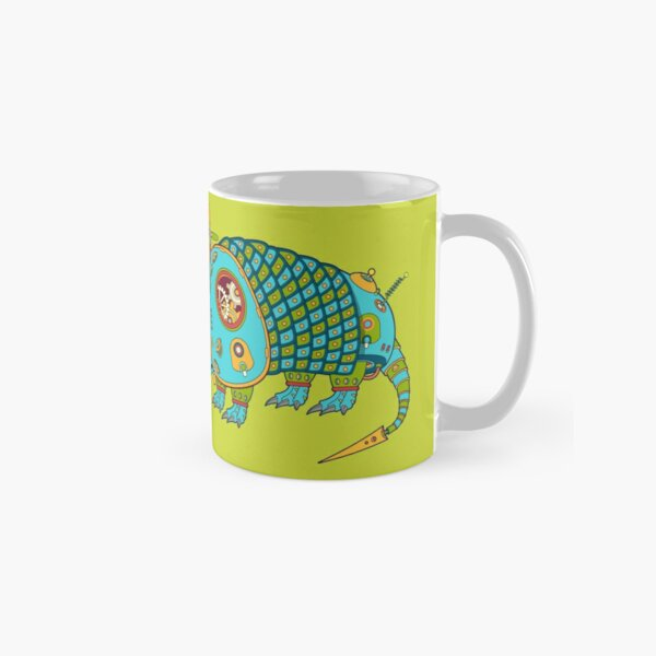 A for Armadillo, from the AlphaPod collection Classic Mug
