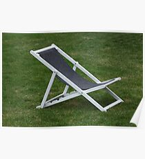 deck chair Poster