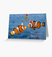 Fishy Christmas Greeting Card
