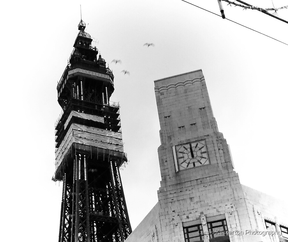 Blackpool Tower by Lewis Kesterton Photography