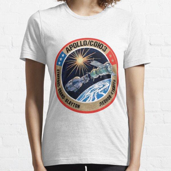 Apollo–Soyuz Test Project (ASTP) Logo Essential T-Shirt