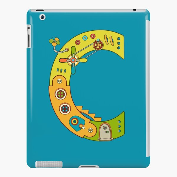 Copy of C for Chameleon, from the AlphaPod collection iPad Snap Case