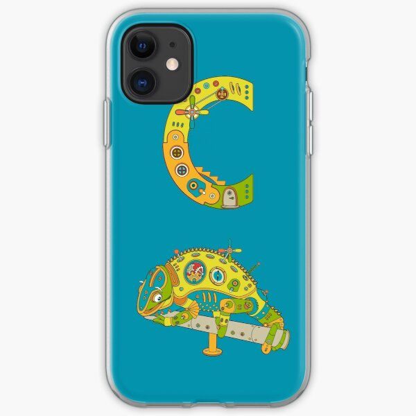 Copy of C for Chameleon, from the AlphaPod collection iPhone Soft Case