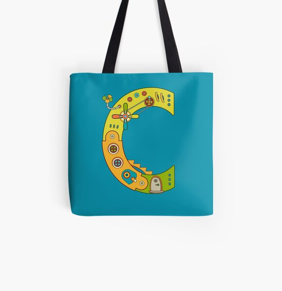 Copy of C for Chameleon, from the AlphaPod collection All Over Print Tote Bag
