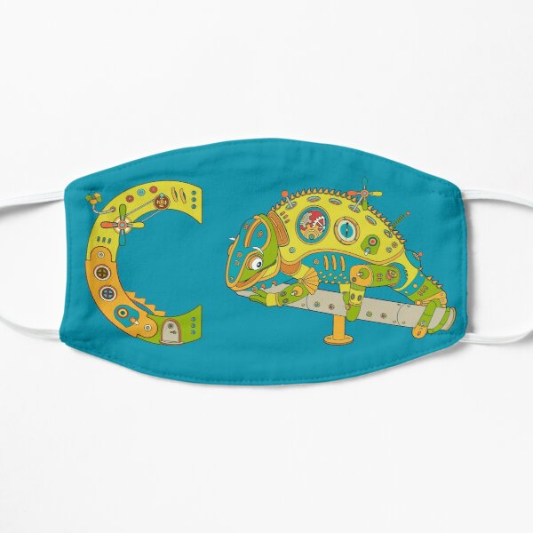 Copy of C for Chameleon, from the AlphaPod collection Mask