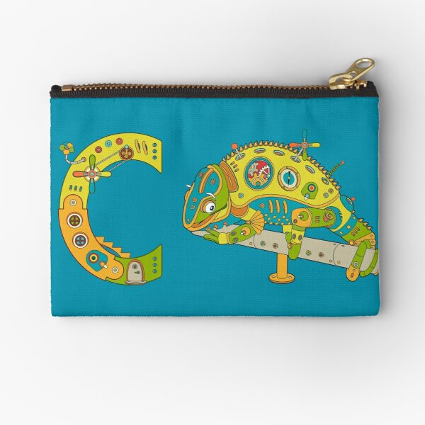 Copy of C for Chameleon, from the AlphaPod collection Zipper Pouch