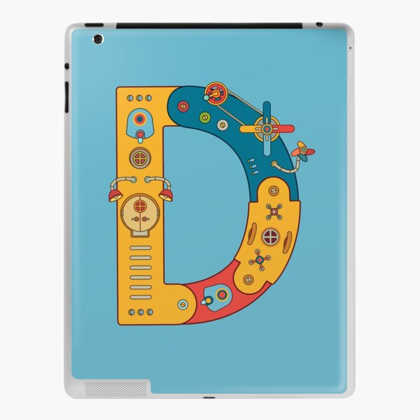 D for Dinosaur, from the AlphaPod collection iPad Skin