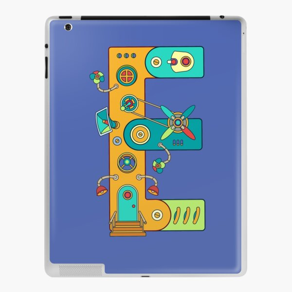 E for Eagle, from the AlphaPod collection iPad Skin