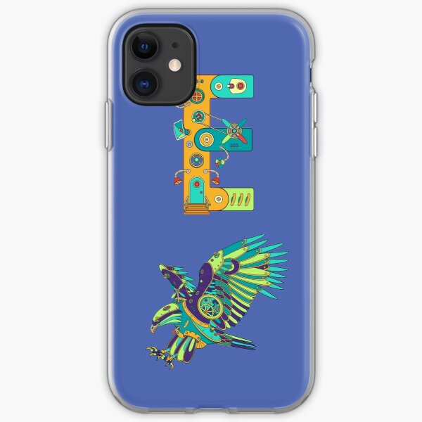 E for Eagle, from the AlphaPod collection iPhone Soft Case