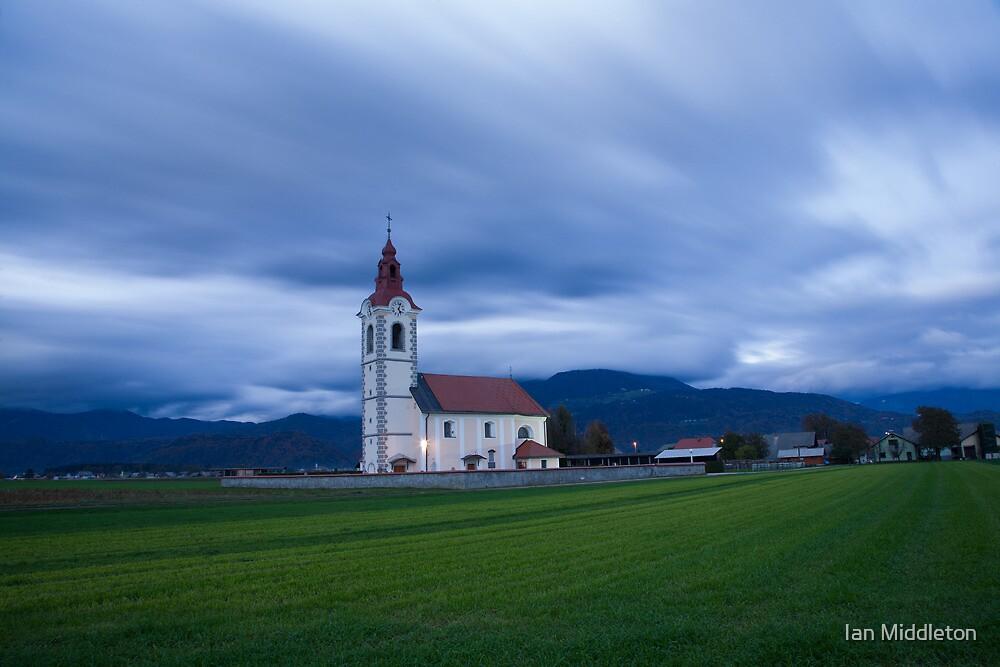 Twilight Church by Ian Middleton