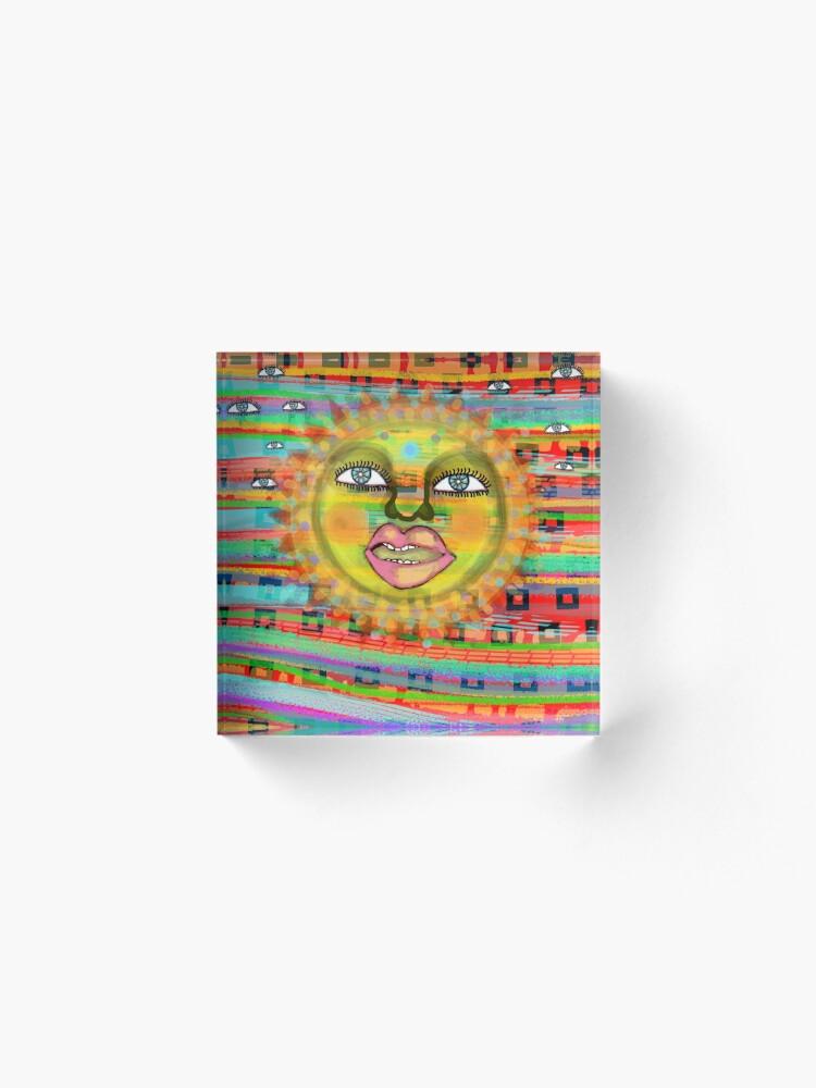 Alternate view of Summer Sun Dream Acrylic Block