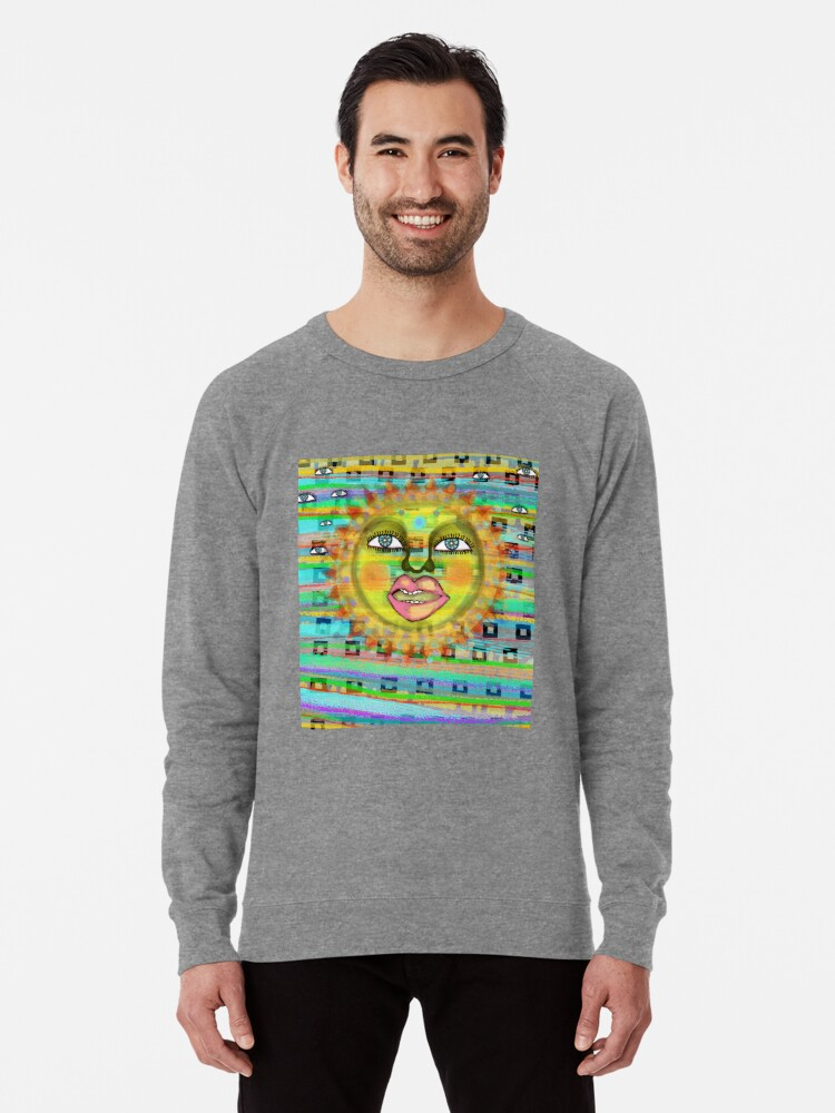Alternate view of Summer Sun Dream Lightweight Sweatshirt