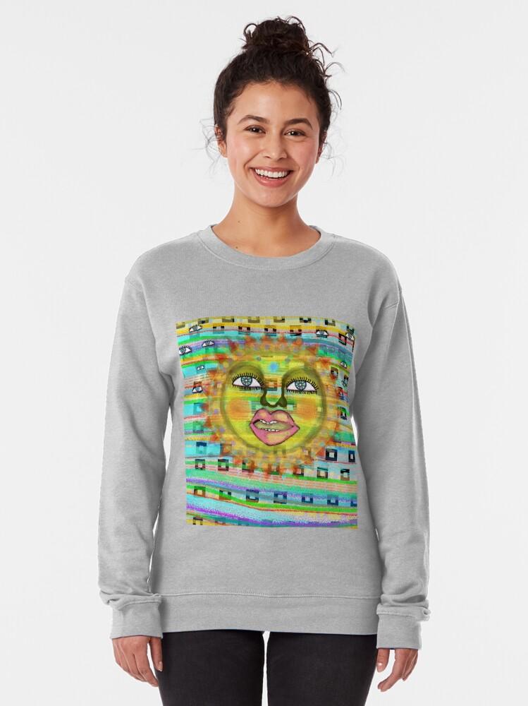 Alternate view of Summer Sun Dream Pullover Sweatshirt