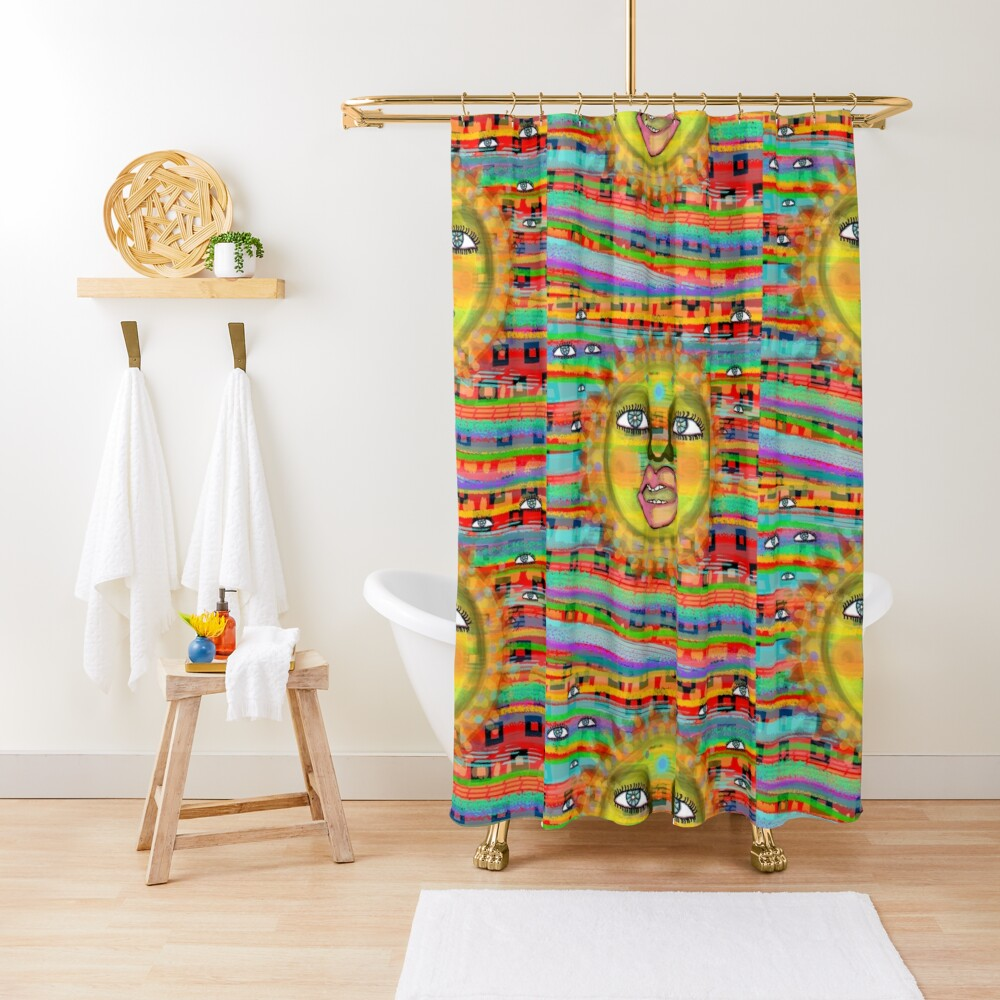 Summer Sun Dream Shower Curtain