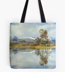 Wise Een....Autumn Snow Tote Bag