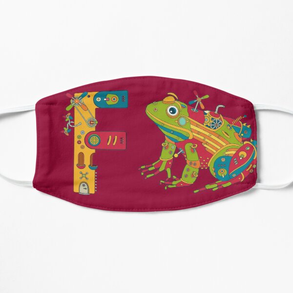 F for Frog, from the AlphaPod collection Mask
