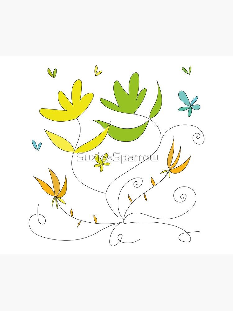 Happy flowers \ by Suzies Sparrow by SuziesSparrow