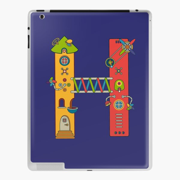 H for House, from the AlphaPod collection iPad Skin