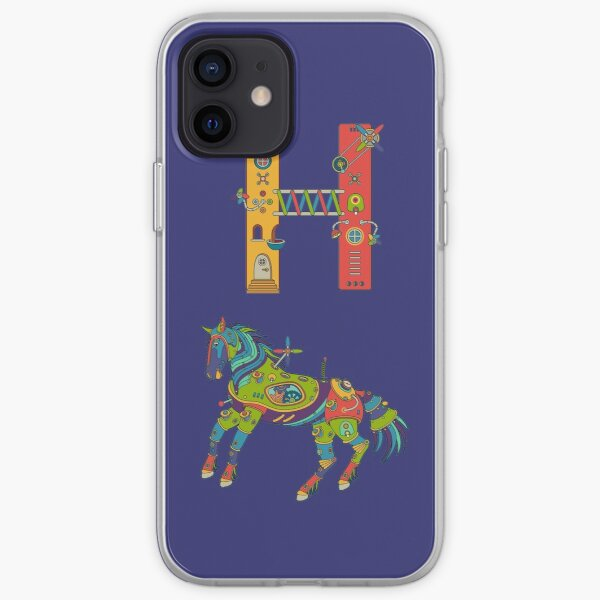 H for House, from the AlphaPod collection iPhone Soft Case